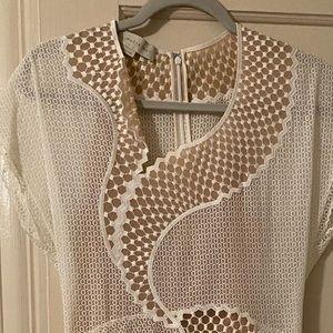 Asymmetric Mesh Dress